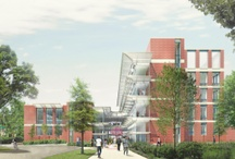 New UMSN building / A ceremonial groundbreaking was held in April and soon construction will begin on our new building. Follow it's progress! / by U-M School of Nursing