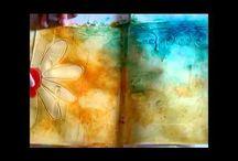Art Journal - Junk books  / by Sandy Navlyt