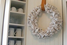 Wreathes - 1 Cor 9:24-25 / Do you not know that in a race all the runners run, but only one receives the prize? So run that you may obtain it.Every athlete exercises self-control in all things. They do it to receive a perishable wreath, but we an imperishable / by Sarah Rolston