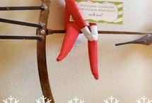 elf on the shelf ideas / by Michelle Lecker-Saravanja