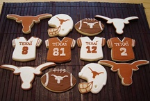 TX/OU weekend decorations / by Still Waters Designs