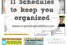 organizing my life / by Stacie Vanderpool