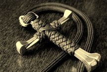 PARACORD TUTORIALS AND STUFF / fun cord weaving and some random items thrown in for flavor / by Richard Jack