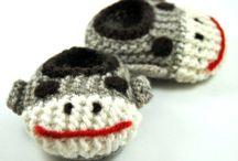 <3 Sock Monkey Love <3 / by Ashley Anders