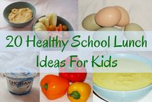 School lunches  / Ideas for kids lunches / by Mariely De Otoya