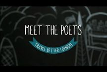 Poetiquette / All the poems and poets from our TfL Travel Better London project - all in one sweet place / by Dom Tejon