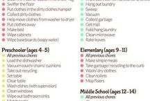Chores for kids / by Karie Moore