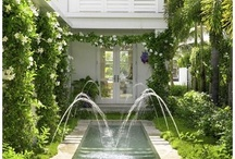 Love Everything About Gardens / I love anything about the garden. Landscaping, statuary, arbors and all the elements that makes up these tranquil places. Looking at the different pictures brings me an inner peace and calmness. Happy pinning...