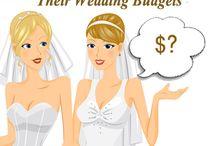 Wedding Budget Ideas! / by Jennifer Scheidies