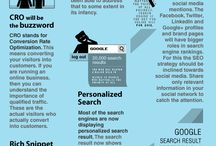 seo infographics / how to improve your seo using infographics / by alexandrapatrick