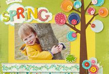 Scrapbooking ** Spring & Easter  / Scrapbook layouts for anything spring. Ideas and inspiration for a wonderful time of year when everything is new and fresh, includes Easter layouts, spring days and sometimes rainy days.  / by Stuff4Crafts