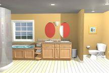 Small Bathroom Ideas / by Lex Voitek