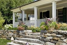 Retaining Wall Landscape / by Jackie Clark