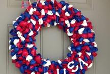 Wreaths!  / by Stephanie Stephens