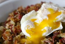 Eats: Put an Egg on It / Topped with an egg / by Gina Mote