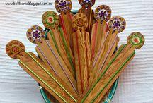 accesorios para mundillo / by Mary Gonzalez
