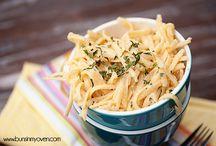 Pasta Monster / by Tanya Schroeder @lemonsforlulu.com