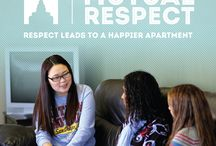 Mutual Respect / The Golden Rule is at the heart of this principle. Do you think of others and how your actions will/might affect them? Accentuate the positive in others. Owning and sharing responsibilities to maintain the apartment falls under this principle. / by BYU-Idaho Student Living