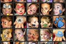 Face painting fun / by Charity Herb