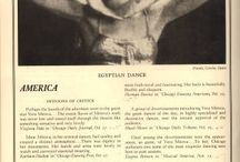 """The """"Exotic"""" in Western Dance / Images of the """"exotic"""" or the """"other"""" in late 19th and early 20th century dance.  / by Abigail Keyes"""