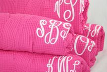 Monogrammed  / by Emily Craig