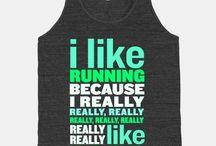 Running / by Leslie Vanderpool