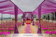 Wedding decor / Quelques idées de décor pour la cérémonie et la soirée... Qui sait pour un jour peut être... / by Astrid Tchana