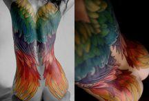 Tattoo Art and Ideas / by Sara E. Windsor