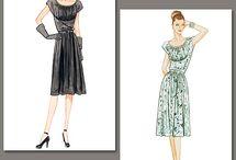 """Vintage Patterns / by Gretchen """"Gertie"""" Hirsch"""