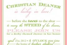 kentucky derby bridal shower / by Jenilee Zapata