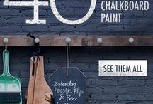 Chalkboard Inspiration / by Beverly Fabrics