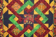 Ethnic quilts / Quilts with African enfluence / by Michelle Harrell