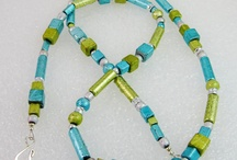 bead necklace / With a perfect personality / by mary Ama