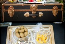 Vintage Trunk Ideas / by Lindsey Gibson