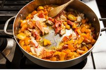 Seafood main Dish / by Anne Stavrinakis