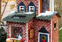 Christmas village  / by Jessica LePort