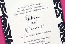 Invitations / by Ashley Dawn