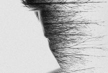 Double Exposure  and photo creation  art / by juliette lassalle