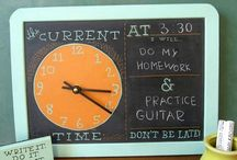 Clock Ideas / by Mandi Nappier