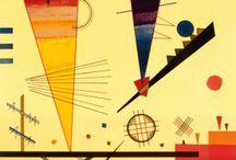 Artists: Kandinsky / Work of Kandinsky / by Kwalitisme