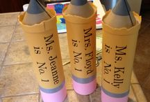 Fun Teacher Gifts / by feather noodles