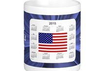 2015 Calendar Mugs by Janz / Calendar Designs by Janz © 2008-2014 Jan Fitzgerald. All rights reserved. Graphic Design, Artwork, & Photography by Jan & Michael Fitzgerald. / by Calendars By Janz
