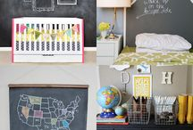 Kids rooms and decor / by Shannon Voss