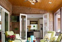 Porches, screened / by K.A.M. GreenOaks