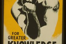 Posters: Examples & Resources / Examples of library posters (okay, it's been expanded to include MANY types of posters), plus resources on the history and design of posters. / by IArtLibraries