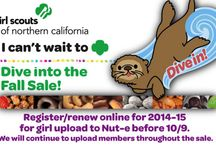 2014 Fall Sale Dates: Oct. 3-Nov. 23 / Everyone knows Girl Scouts sell cookies in the spring, but our Fall Nut & Magazine Sale is also an important fundraiser for our girls, helping them earn money for their fall activities and community service projects.  To buy from a troop near you, email info@girlscoutsnorcal.org. / by Girl Scouts NorCal