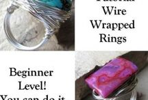 Wire Wrap Rings / by Jan Cabe Moore