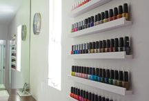 Nail Polish Storage Ideas / I love seeing how everyone stores their nail polish. Let's take a peek at some stashes!  / by Cult Nails