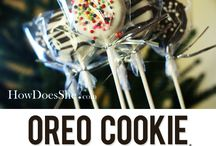dipped oreos / by Misty Gibson-Traynor