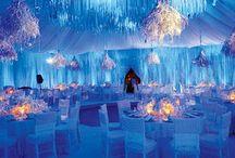 Blue Winter Wonderland Wedding / by Karen Cruse